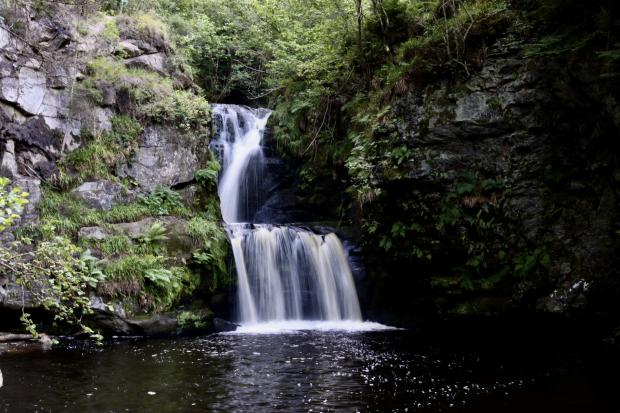 HeraldScotland: The scenic route of the Linn of Ruthrie Circular in Aberlour, Moray. Picture: Tracy Chalmers