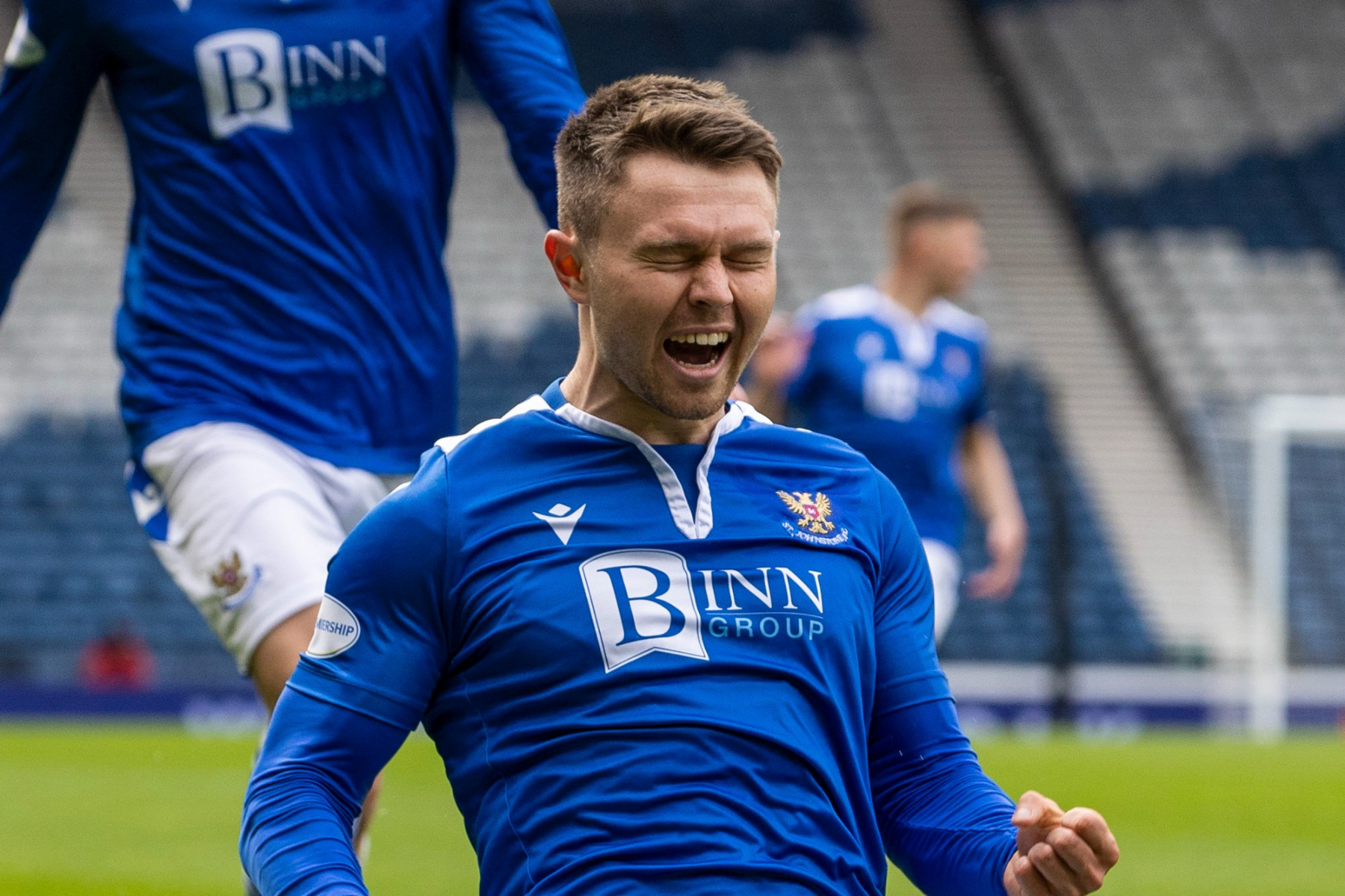 St Johnstone confirm loan signing of Glenn Middleton from Rangers