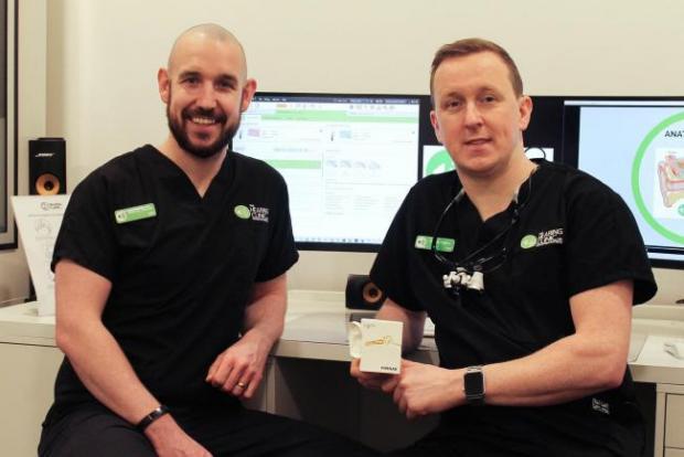 HeraldScotland: Martin and Chris Stone of The Hearing Clinic UK.