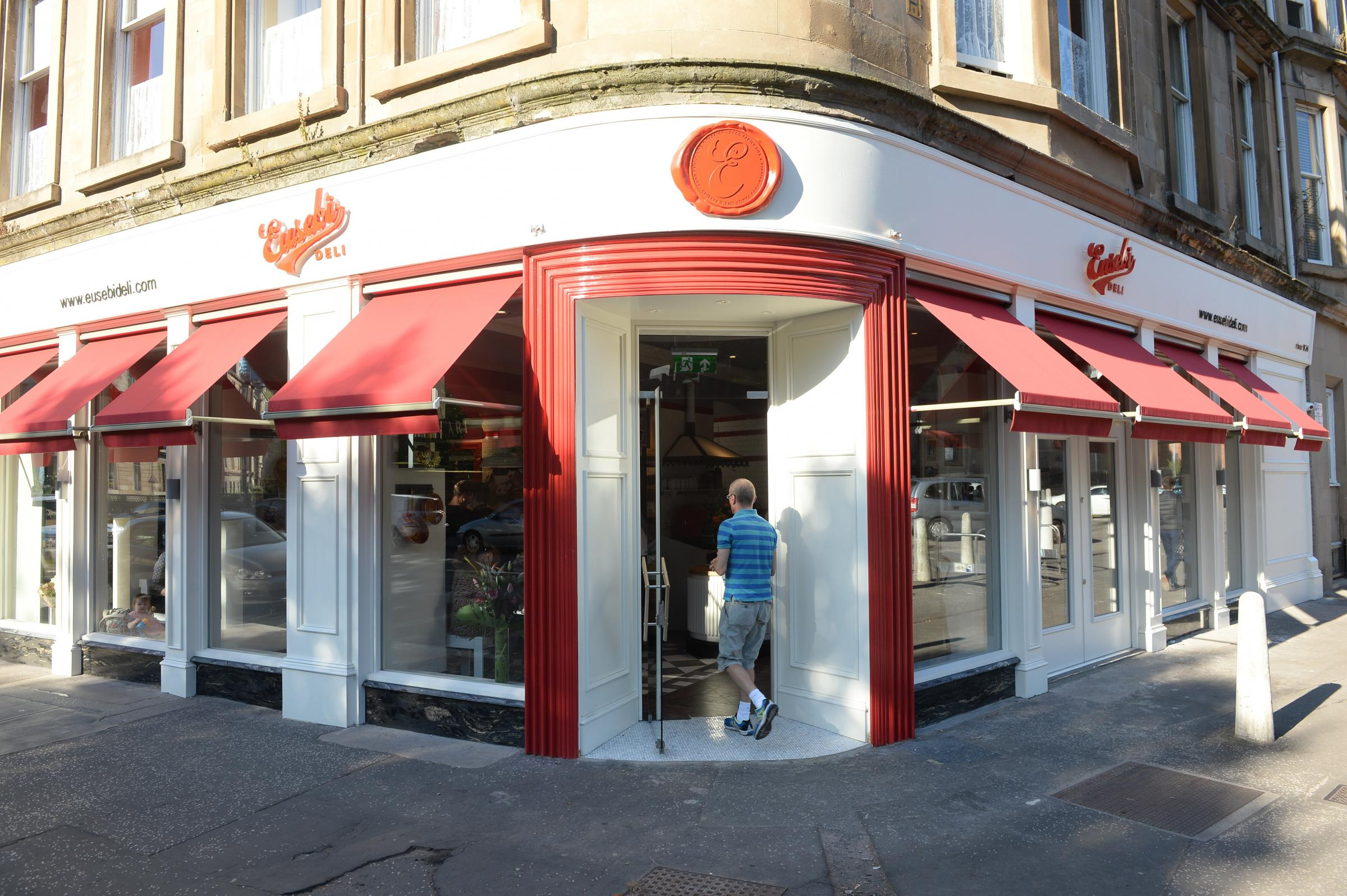 Eusebi Deli in Gibson Street, one of the key Plate up for Glasgow partners