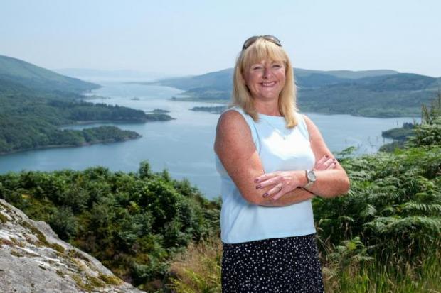 HeraldScotland: Cathy Craig, chief executive, Argyll and Isles Tourism Co-operative.