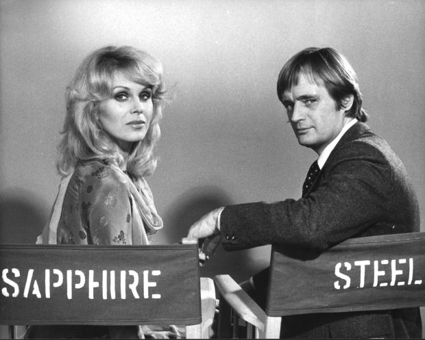 HeraldScotland: Joanna Lumley and David McCallum in Sapphire and Steel