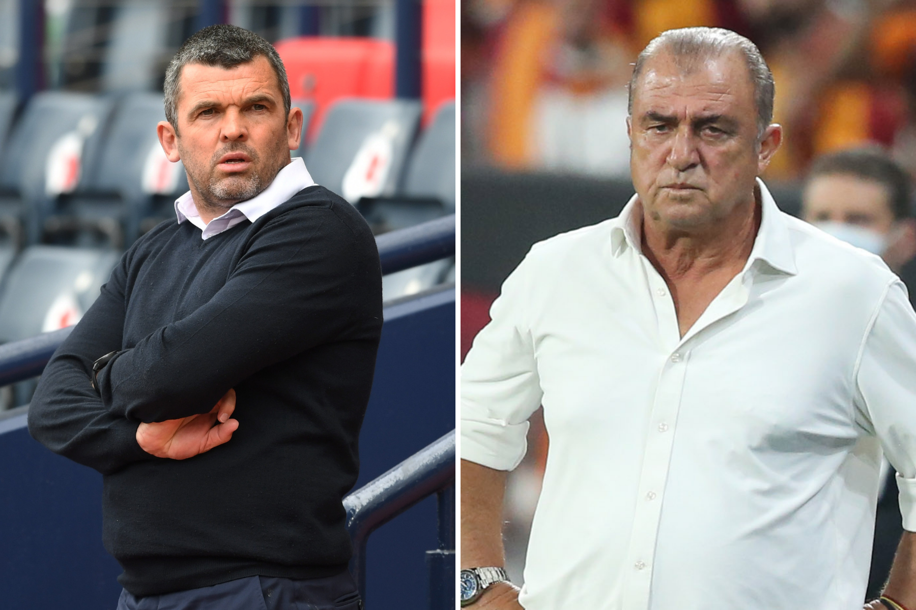 Galatasaray boss Fatih Terim not 'scared' by 'rocking atmosphere' at McDiarmid Park for St Johnstone showdown