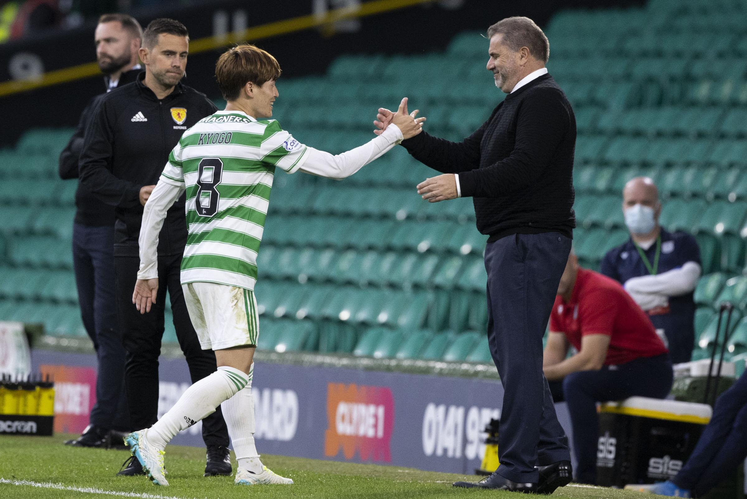 Ange Postecoglou on why his £4.6m goal sensation Kyogo Furuhashi is only going to get better at Celtic