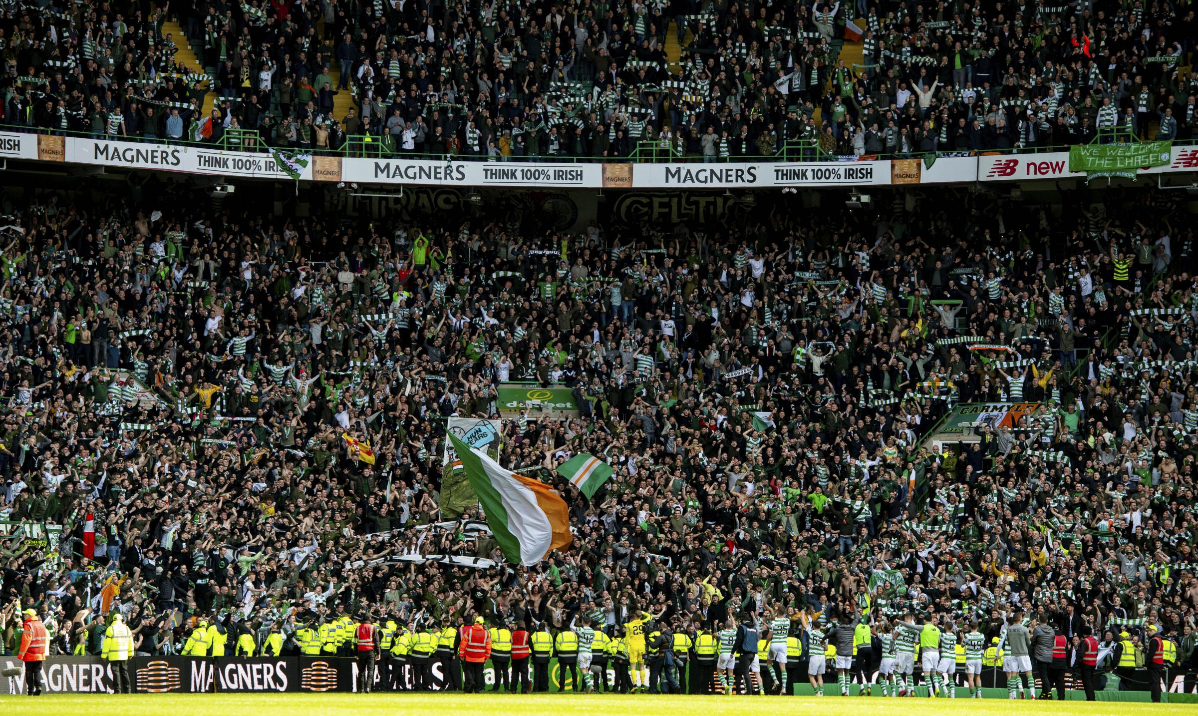 Ange Postecoglou and Dom McKay praise Celtic fans as season tickets sell out