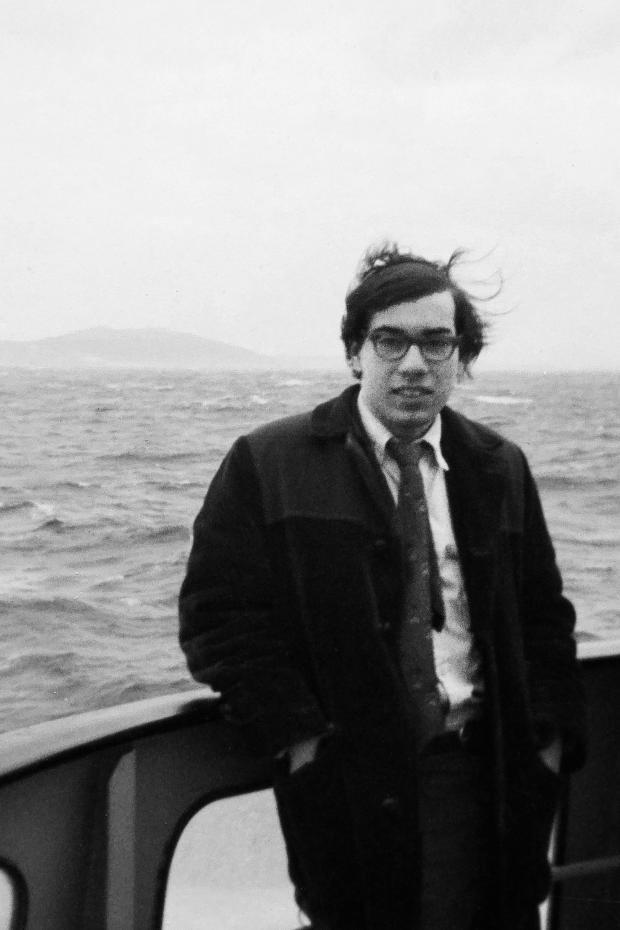 HeraldScotland: Jay Parini in 1970