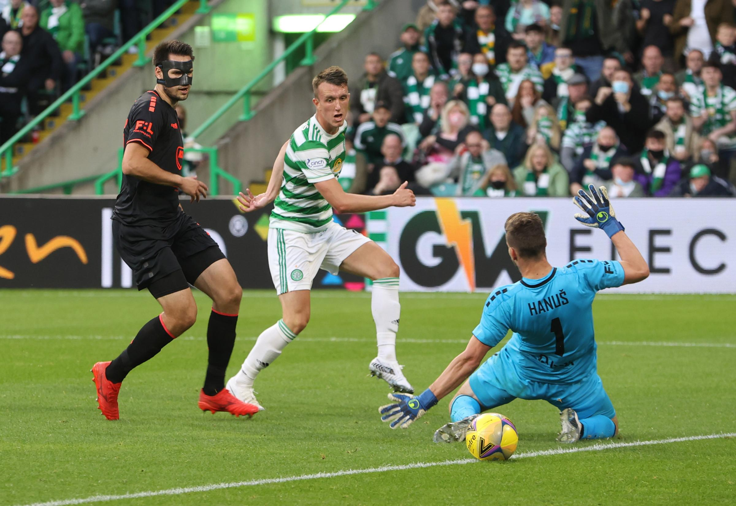 Celtic 3-0 Jablonec (7-2 aggregate): David Turnbull double books Europa League play-off spot at packed Parkhead