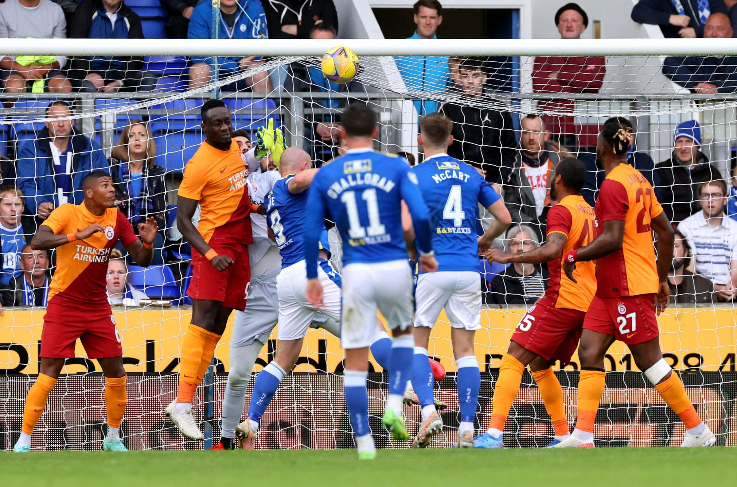 Inspired St Johnstone lose out to Galatasaray in the Europa League