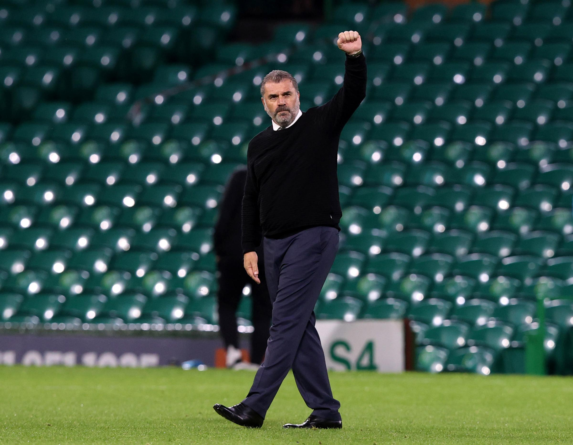 Ange Postecoglou on the 'incredible emotion' of Celtic Park as he praises bravery of his players