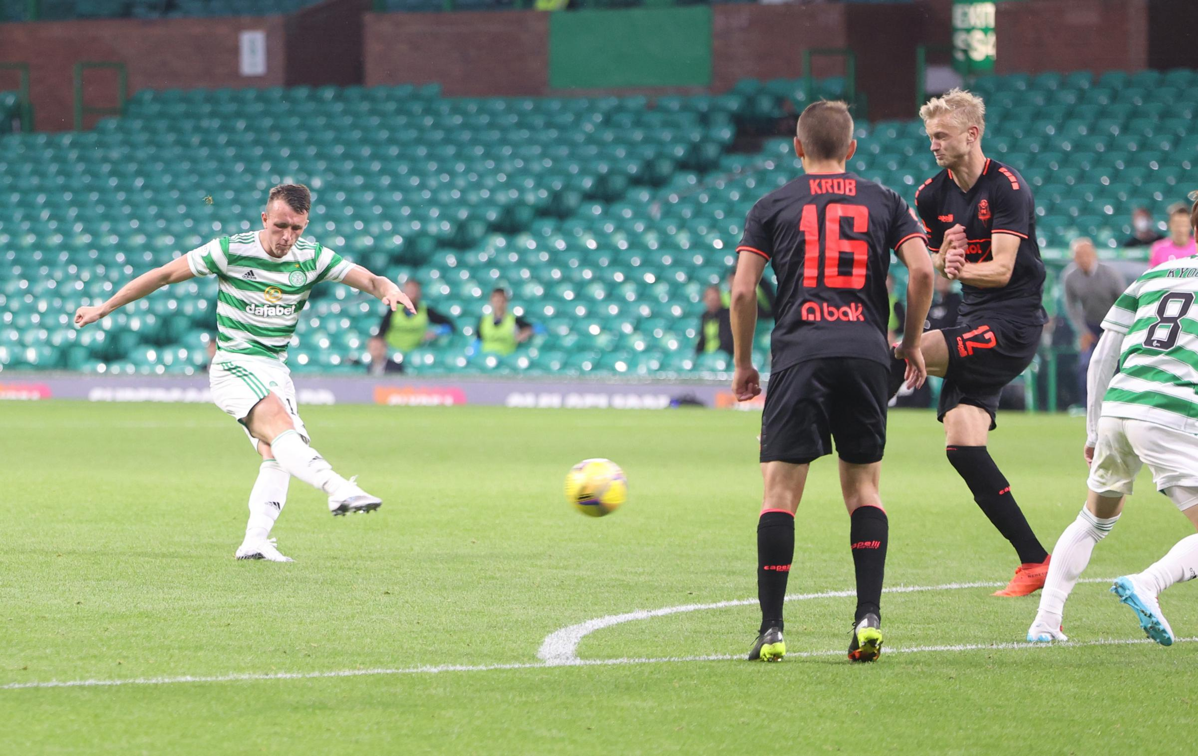 David Turnbull says there is more to come from him and Celtic as double has him firing once more