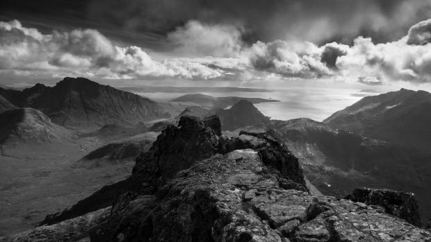 HeraldScotland: View from the summit of Sgurr nan Gillean. Photo by Simon Ingram