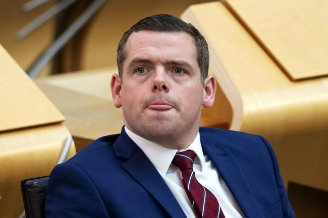 Douglas Ross denies 'anti-families' comment was a dig at Greens' LGBT  support   HeraldScotland