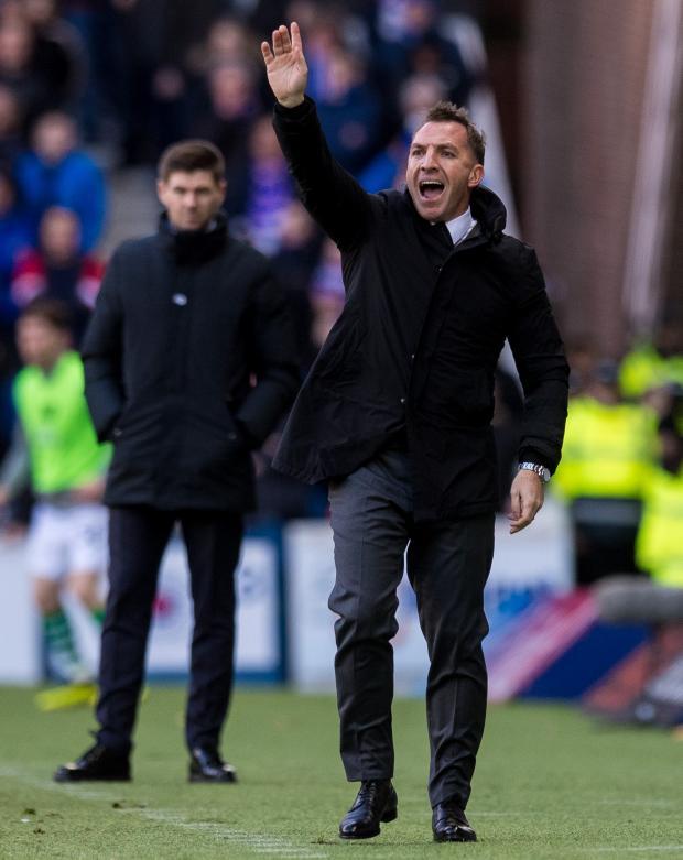 HeraldScotland: Brendan Rodgers at Ibrox as Celtic boss