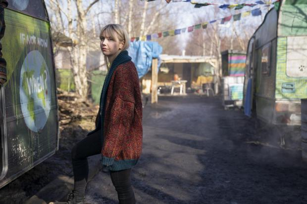 HeraldScotland: Lauren Lyle stars in BBC thriller Vigil. Picture: Mark Mainz/World Productions/BBC