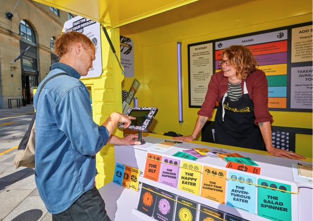HeraldScotland: The 'Meat your Persona' exhibit invites members of the public to take a quiz to find out which of six diet types their eating habits put them into, and what the latest research tells us about meat, health, and the environment