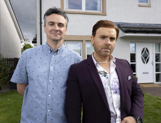 HeraldScotland: Iain Connell and Robert Florence in The Scotts. Picture: Martin Shields/The Comedy Unit/BBC