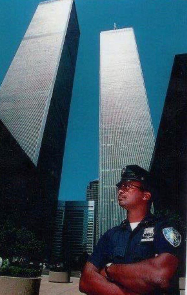 Clinton Davis was proud to serve with the Port Authority Police Department