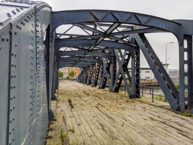 HeraldScotland: Victoria Swing Bridge's current condition