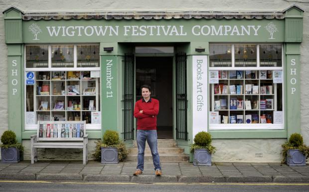 HeraldScotland: Wigtown Book Festival director Adrian Turpin