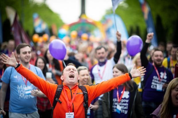 HeraldScotland: Sense of achievement at crossing the finish line