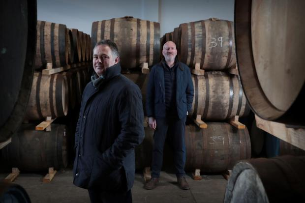 HeraldScotland: Andy Simpson and David Robertson, co-founders of Rare Whisky 101