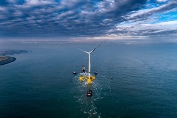 HeraldScotland: The six turbine project will generate over 200,000 MWh per year, enough to power 50,000 homes.