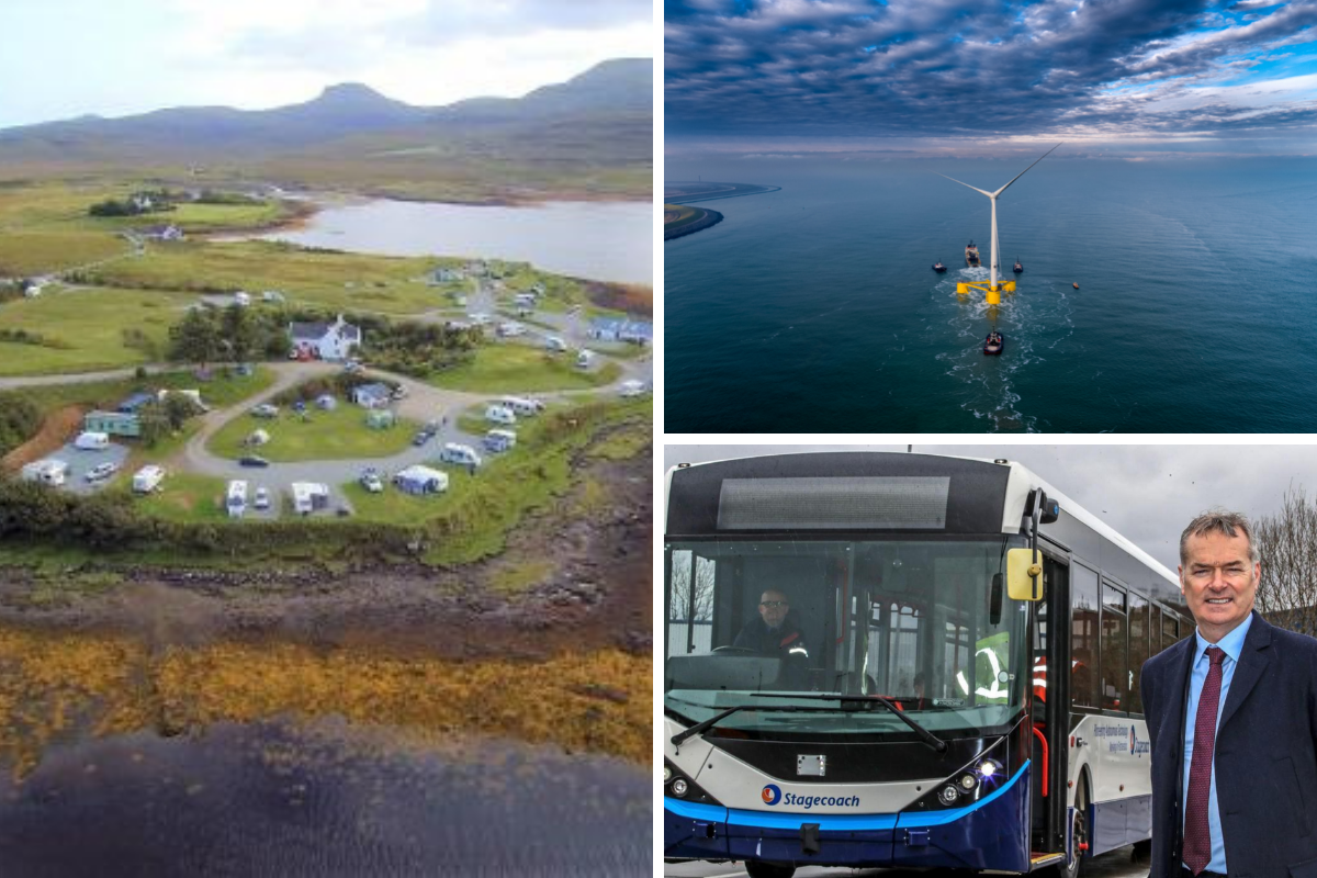 Skye island campsite for sale