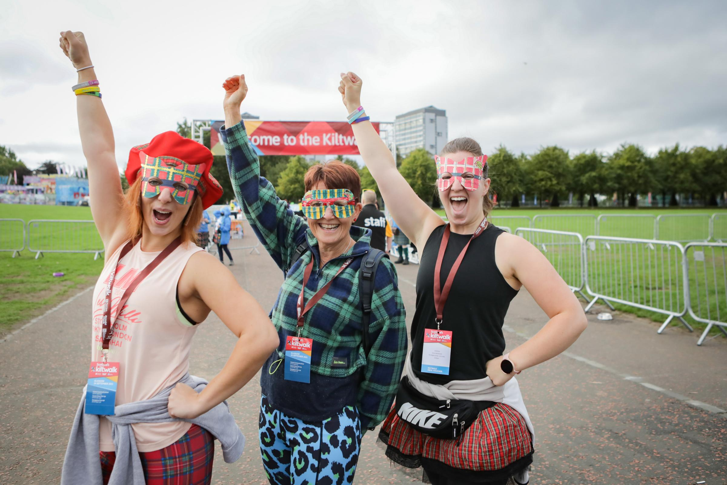 Scotland's Kiltwalk takes place for the first time in two years