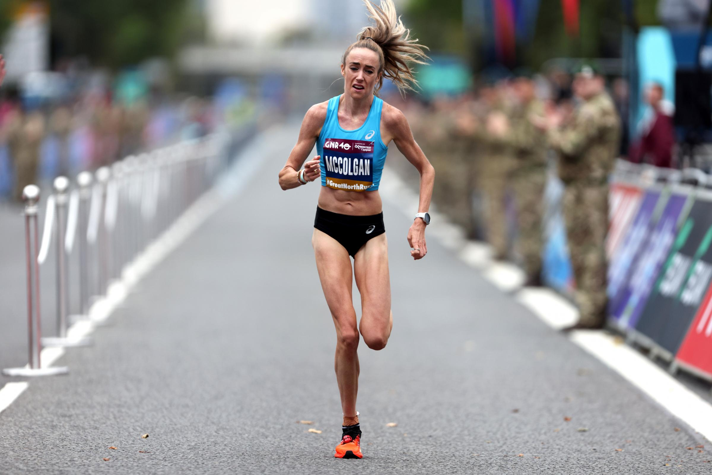 Eilish McColgan: Scots runner hits third in all-time UK rankings