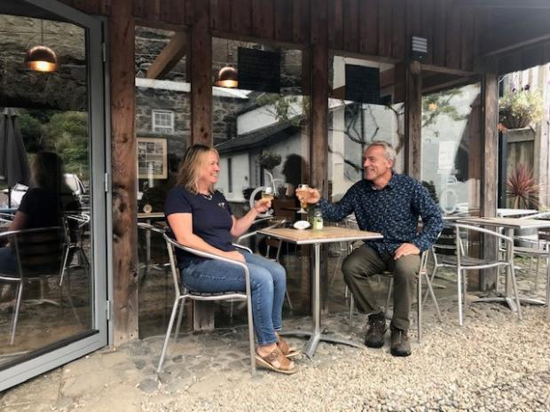 HeraldScotland: I met Julia and eventually we bought Calgary Farmhouse together.