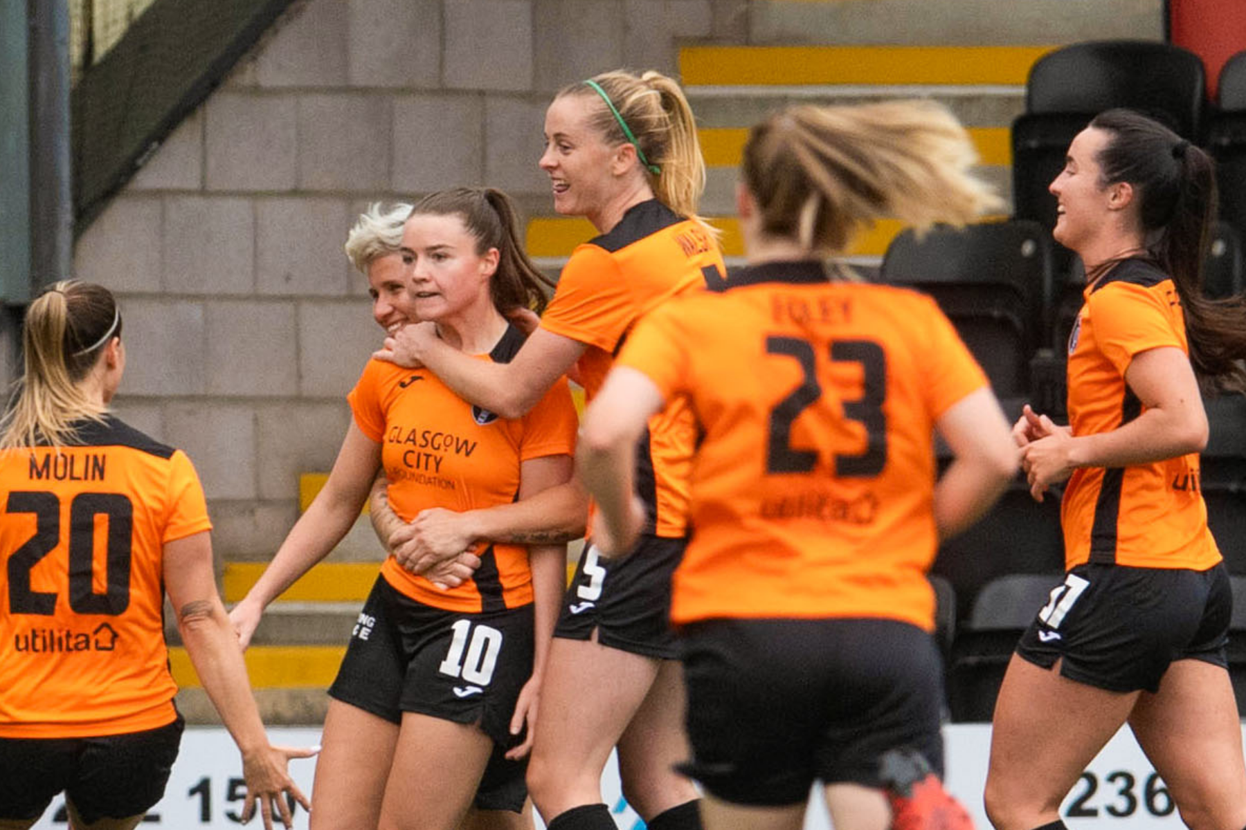Glasgow City return to top of SWPL 1 after Partick Thistle win