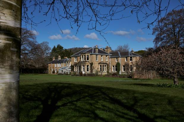 HeraldScotland: The stunning Lowood House in Melrose