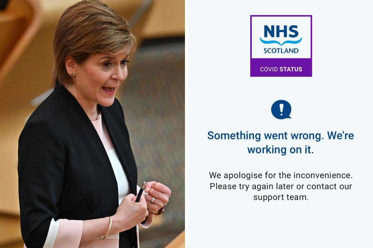 Covid: Pemerintah Skotlandia menolak tawaran untuk menggunakan aplikasi paspor vaksin Covid Inggris dan Wales