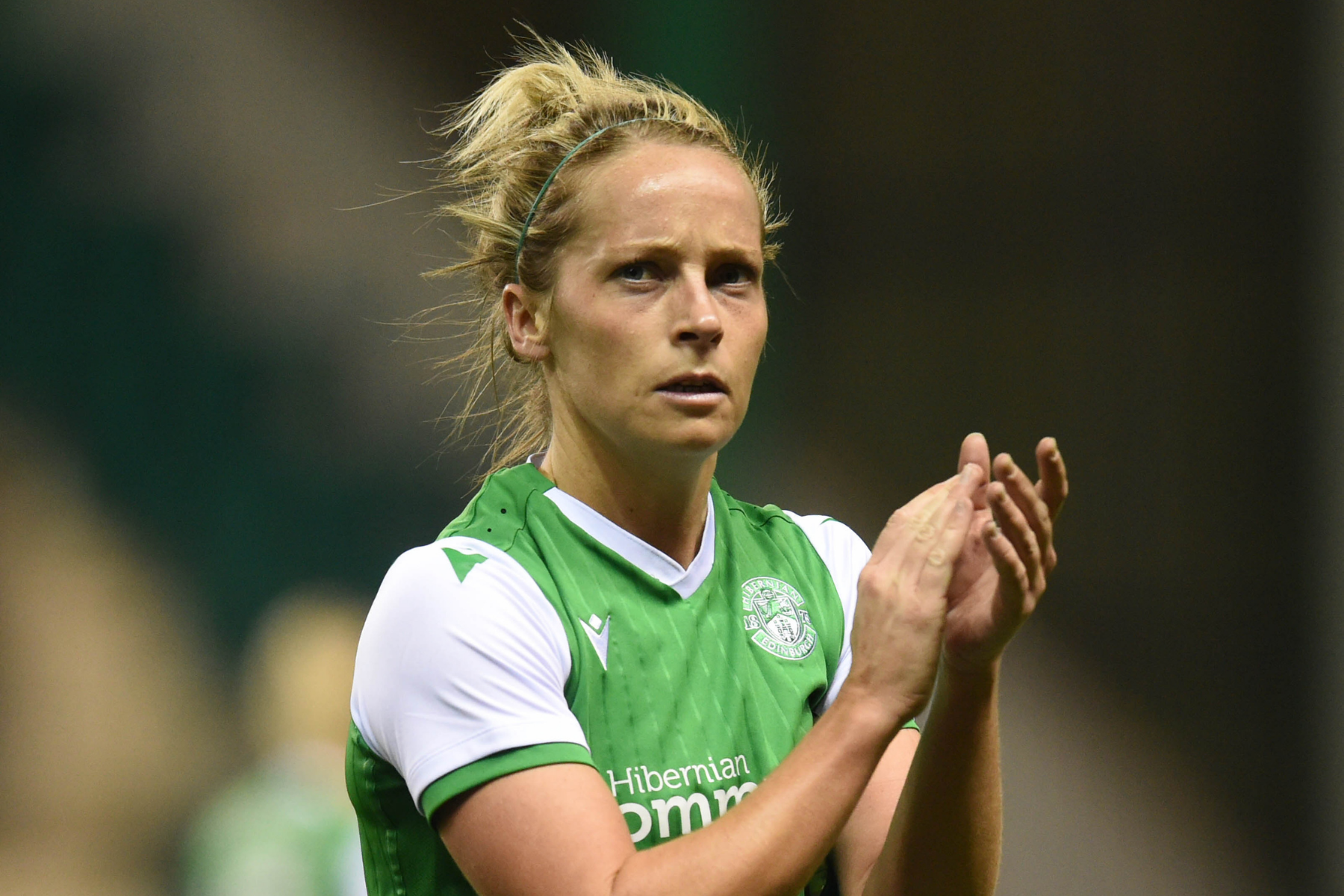 Emotional eight days for Hibs' Joelle Murray concludes with Rangers clash