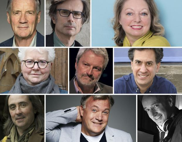 HeraldScotland: Some of the authors appearing at the Baillie Gifford Borders Book Festival next month
