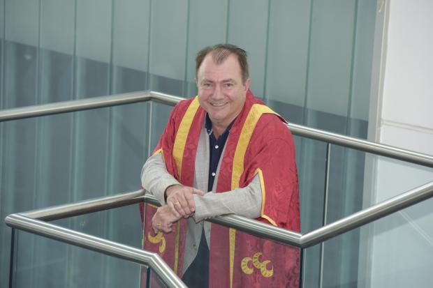 HeraldScotland: Will Whitehorn took over as Chancellor of Edinburgh Napier University in August