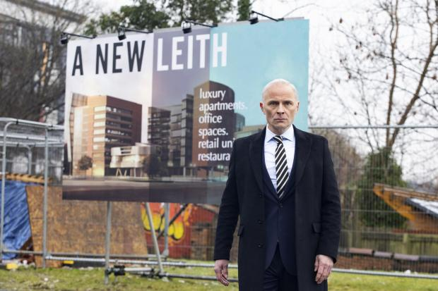HeraldScotland: Mark Bonnar as Max in series two of Guilt. Picture: Robert Pereira Hind/BBC