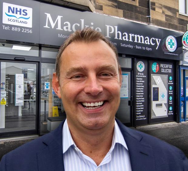 HeraldScotland: Mr Mackie hailed the benefits of robots in the pharmacy.
