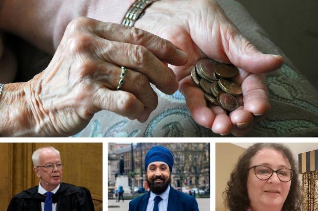 """Los líderes religiosos de Escocia se unen en demanda para detener el """"golpe al cuerpo"""" de la pobreza"""