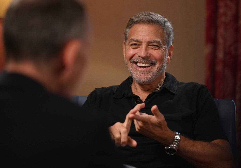 Alison Rowat: Clooney trae calor y luz a la charla de Marr sobre el futuro