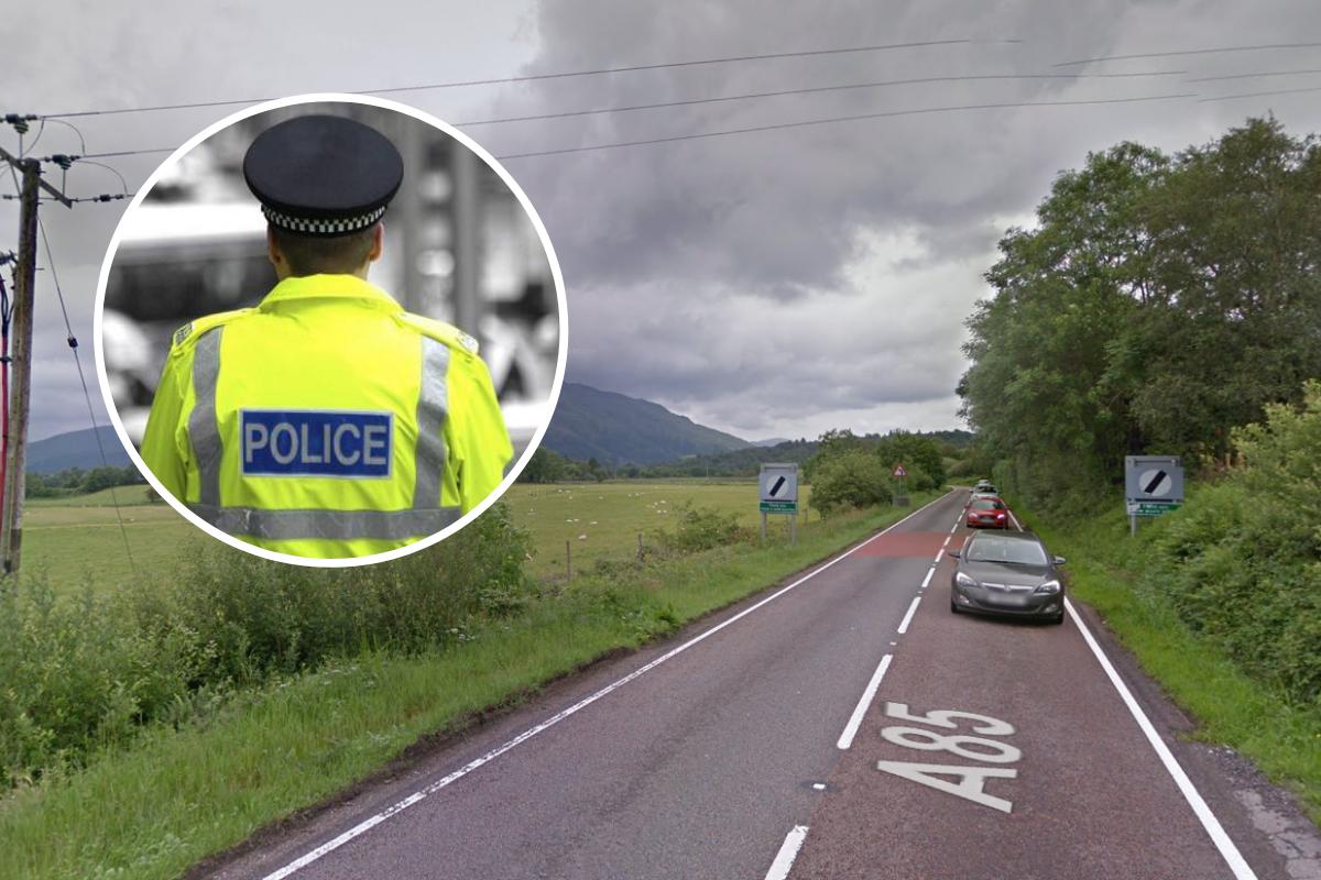 A85 Taynuilt: el desvío permanece en su lugar después de un accidente fatal