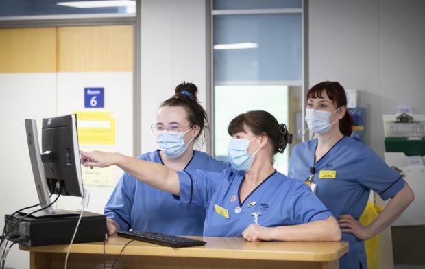 HeraldScotland: Nurses at work