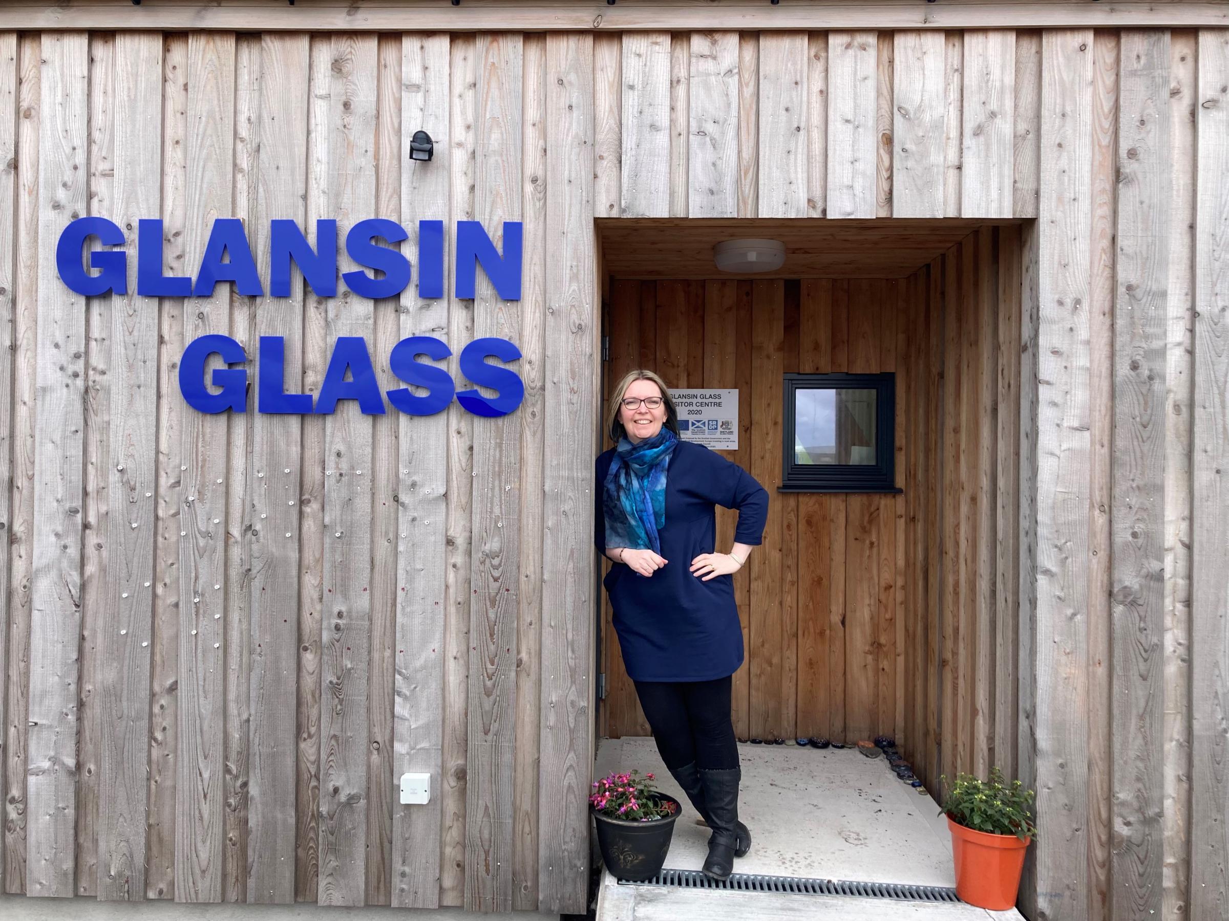 Lanzamiento del estudio de arte de vidrio de Shetland, centro de visitantes