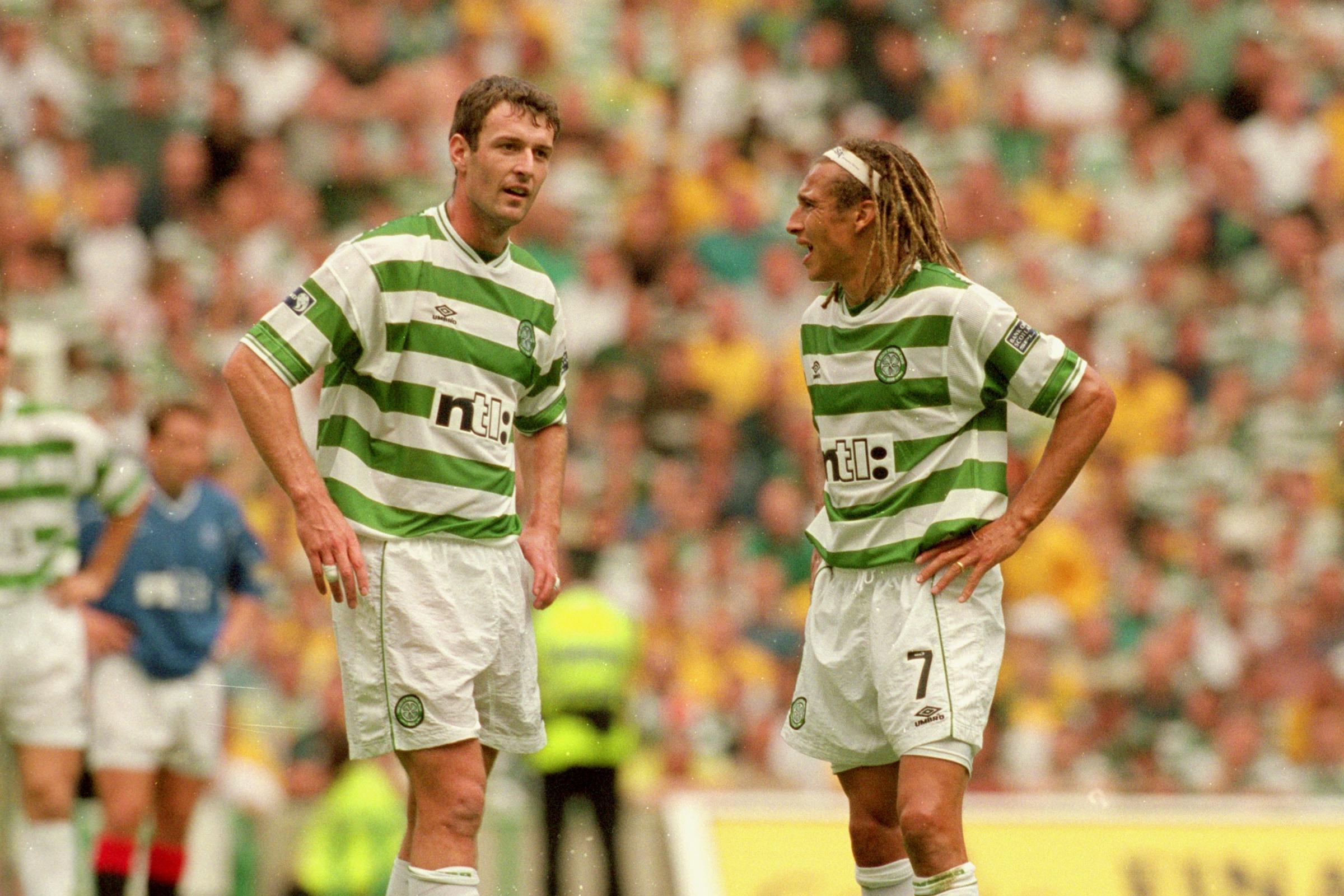 Chris Sutton hace reclamo a Henrik Larsson mientras el exdelantero del Celtic ofrece veredicto sobre Alan Shearer