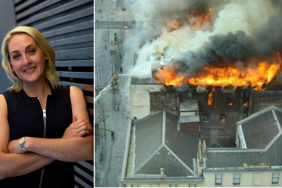 La Escuela de Arte de Glasgow nombra presidenta interina después de que Muriel Gray se retira