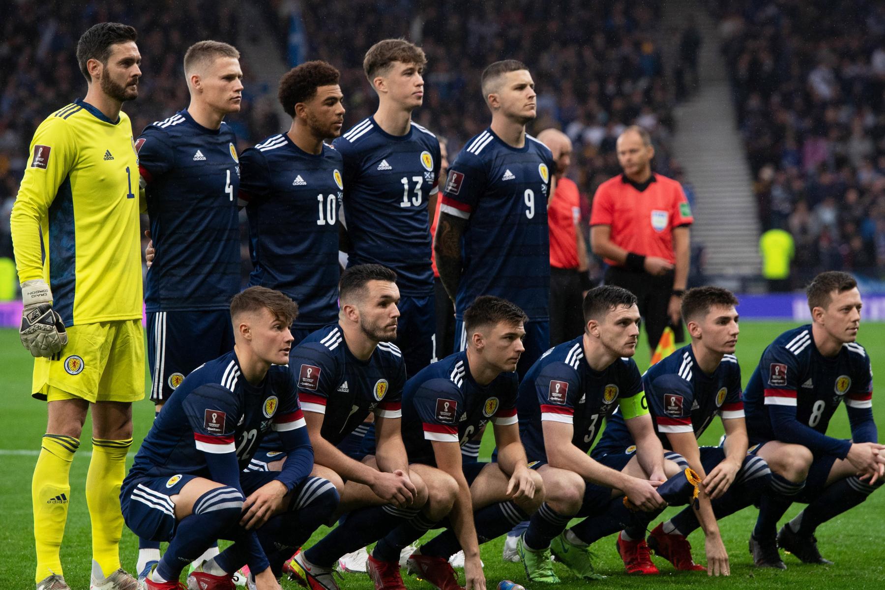 Noticias del equipo escocés para el choque clasificatorio de las Islas Feroe reveladas
