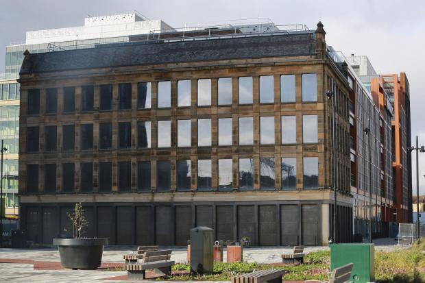 HeraldScotland: The previously derelict site