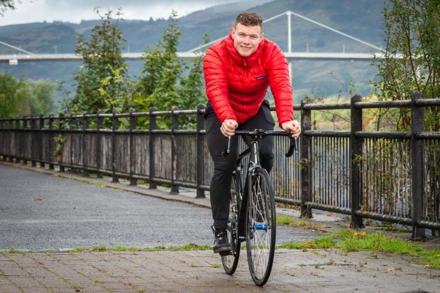 HeraldScotland: Carlin on his bike