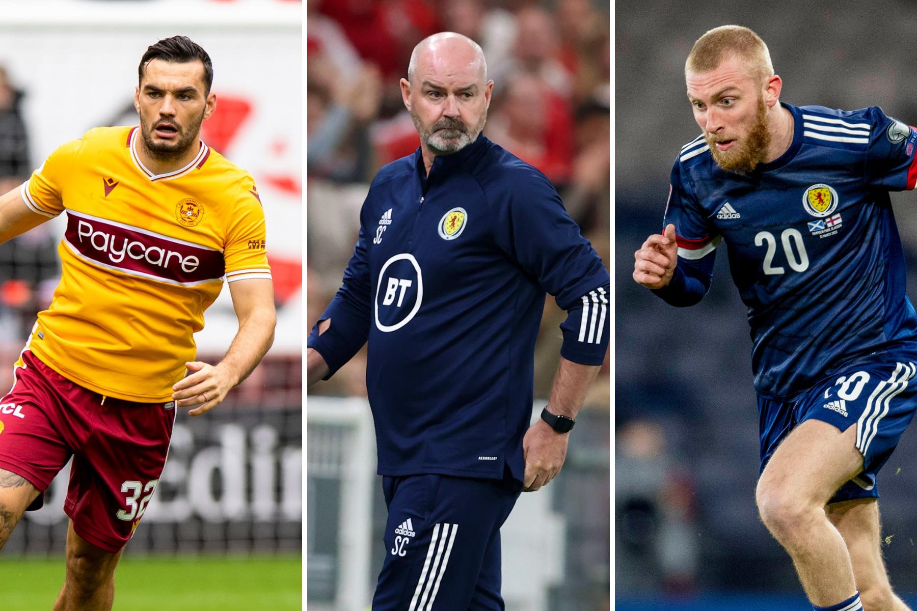 Lima striker yang bisa menjadi andalan pelatih Skotlandia Steve Clarke saat melawan Moldova