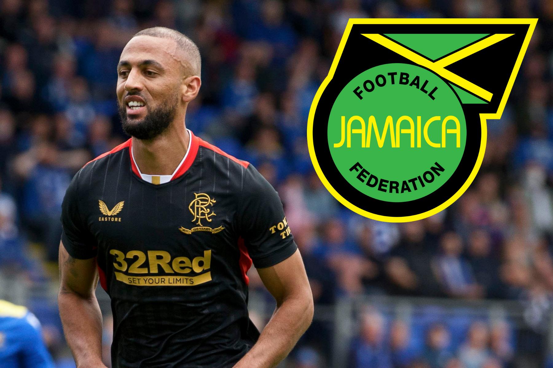 Bintang Rangers Kemar Roofe mencetak gol pertama Jamaika di kualifikasi Piala Dunia